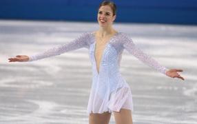 Italian skater Carolina Kostner bronze medal winner