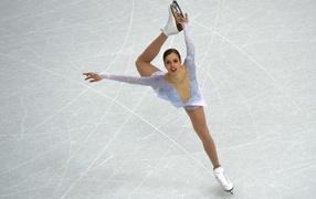 Italian skater Carolina Kostner bronze medal winner in Sochi
