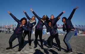 Джейми Грюбель из США бронзовая медаль на олимпиаде в Сочи