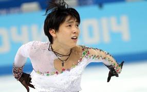 Japanese skater Yuzuru Han are a gold medal