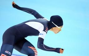 Санг-Хва Ли корейская конькобежка