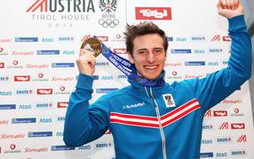 Matthias Mayer Austrian skier a gold medal in Sochi