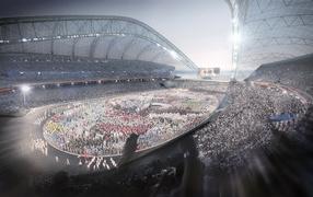 Олимпийский стадион игр в Сочи 2014
