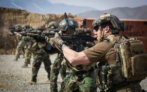 Солдаты получай стрельбище