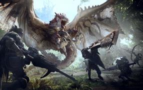 Монстры на компьютерной игре Monster Hunter World, 0018