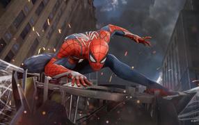 Новая компьютерная игрушка Spider-Man (PS4), 0018