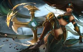 Сивир герой зрелище Лига легенд