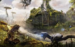 Видео игруха Horizon Zero Dawn