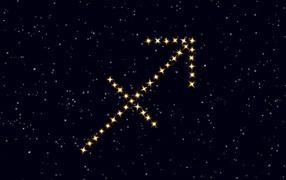Black Sagittarius Wallpaper Download