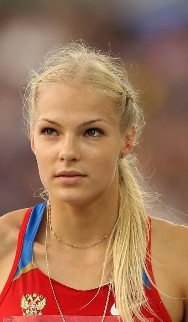 Athlete Darya Klishina Desktop wallpapers 600x1024 Darya Klishina Wallpaper