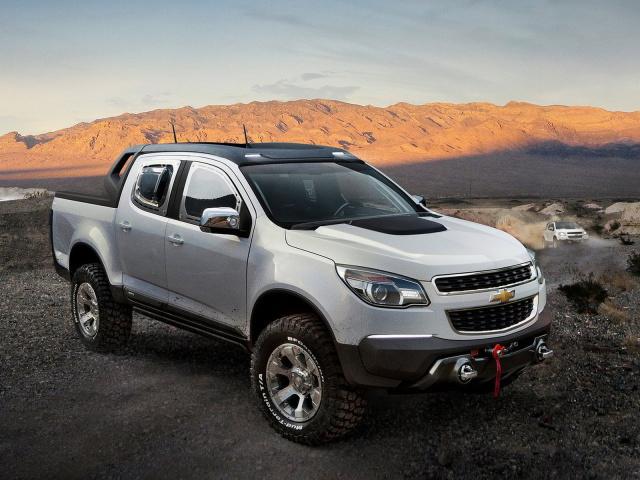 Chevrolet Colorado Rally Concept…