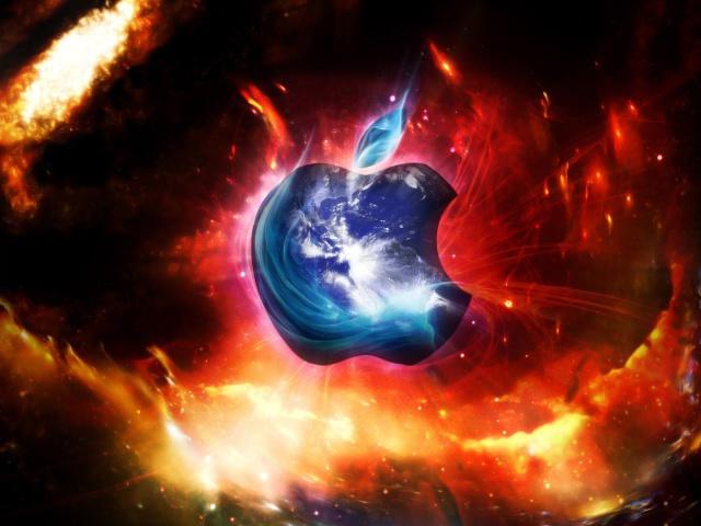 Обои космос apple