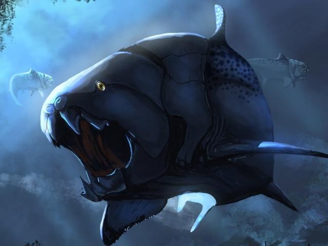 Доисторическая рыба.