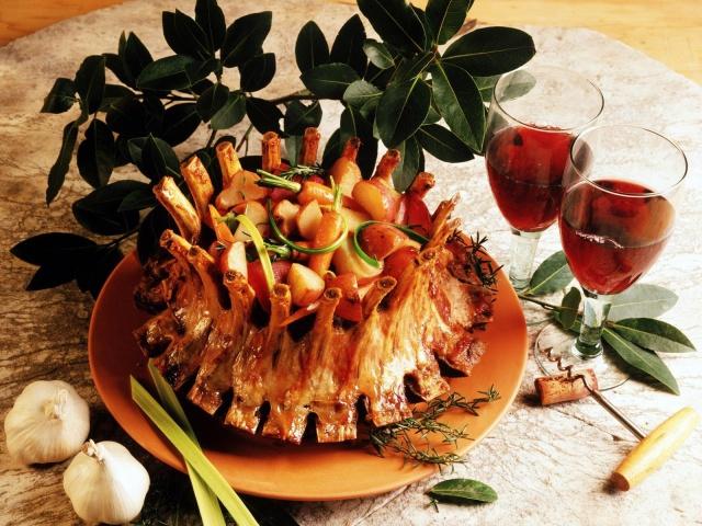 праздничные блюда из мяса фото
