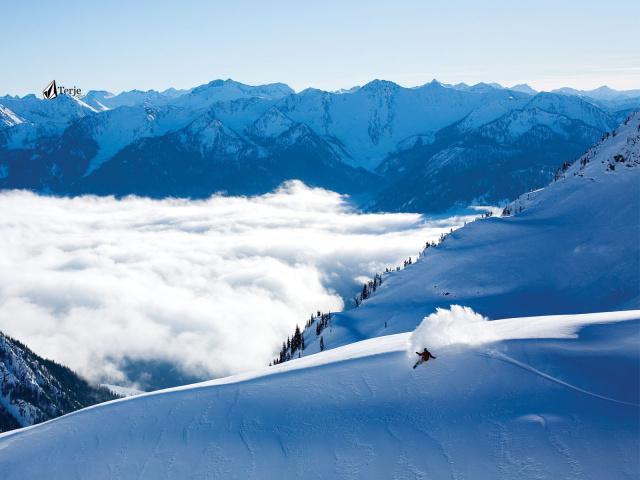 Рабочий стол обои сноуборд