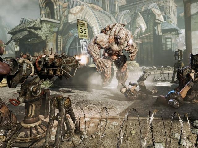 Gears of War 3 - Ты не пройдешь! xboxone новости на сайте. pc новости на са