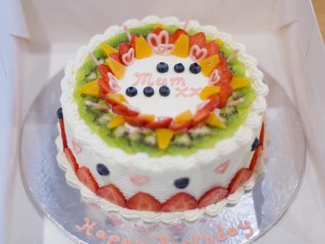 Красивый торт маме на день рождения фото