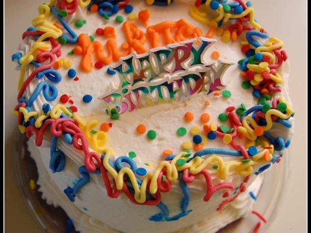 Торти на день рождение фото