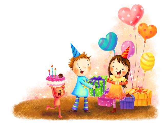 Картинки с днем рождения своего ребенка