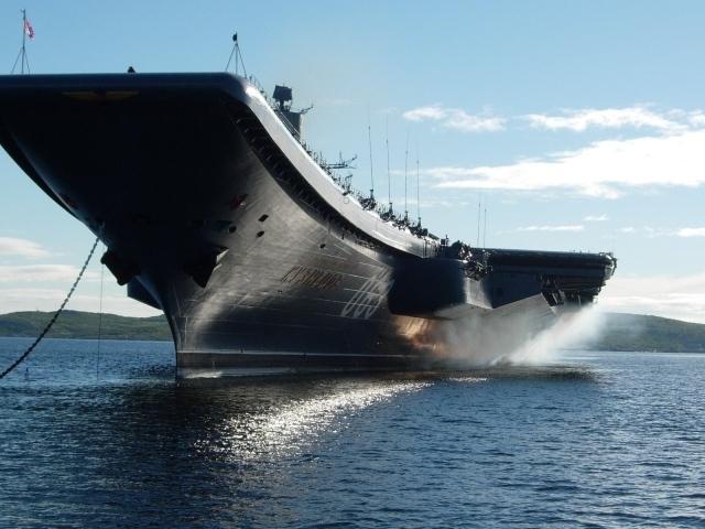Смотр - Авианосец Адмирал Кузнецов авианесущий крейсер адмирал