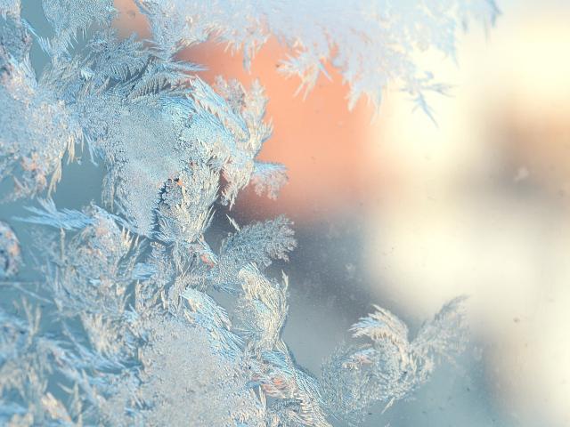 Скачать морозный узор, зима, лед, фото, обои, картинка #390391 - www.KoToFoT.ru