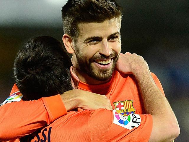 Карикатуры на футболистов Барселоны