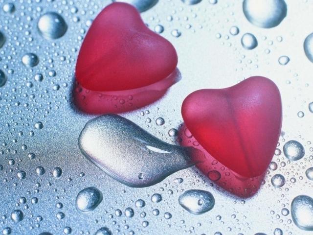 Стекле на день влюбленных 14 февраля