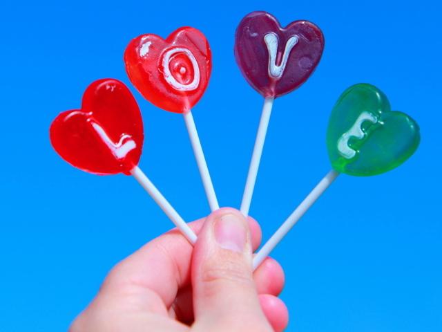 Леденцы на день влюбленных 14 февраля
