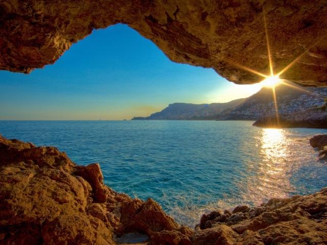 Обои рабочего стола пещеры