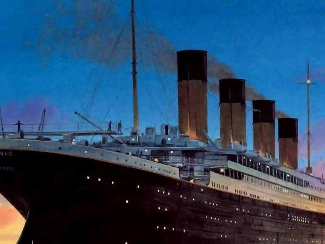 download wallpaper titanic under - photo #5