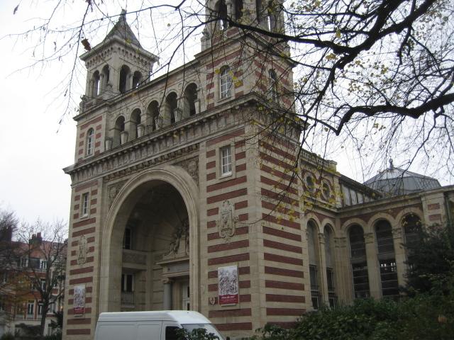 Обои арка в городе лилль франция