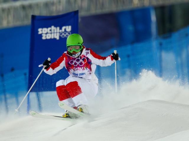 Л�жни�а на ��а��е л�жн�е гонки на Олимпиаде в Со�и обои