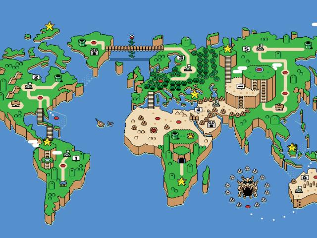 hd обои для рабочего стола карта мира
