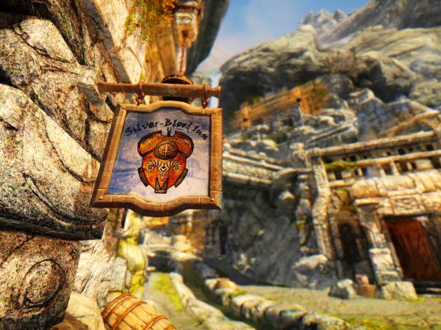 Вывеска магазина в игре создаем наружную рекламу by content protector The Elder Scrolls V Skyrim