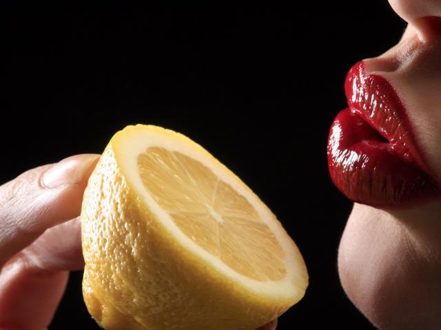 Герпес на губах лимон