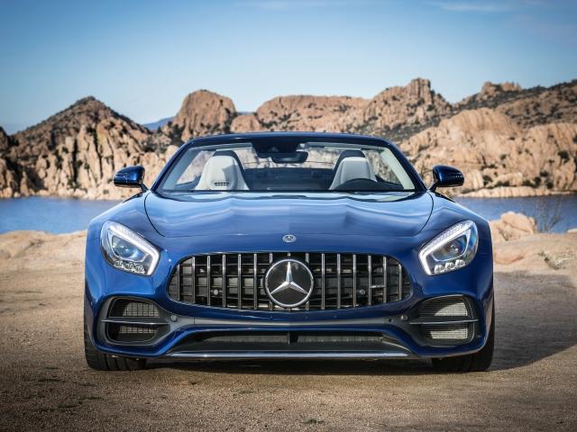 Download Blue Mercedes Benz Wallpaper Pictures