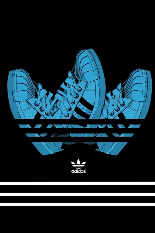 adidas logo 2012 desktop wallpapers 640x960