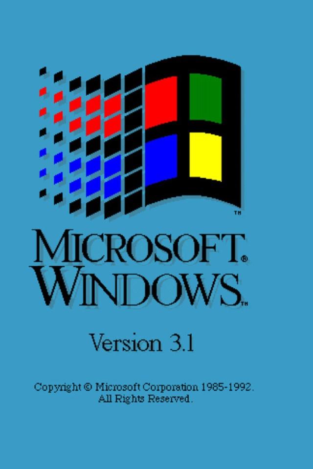 Microsoft Windows Retro Desktop Wallpapers 640x960