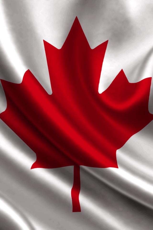 flag of canada desktop wallpapers 640x960