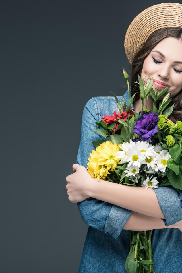 образом как фотографироваться с цветами съедобные