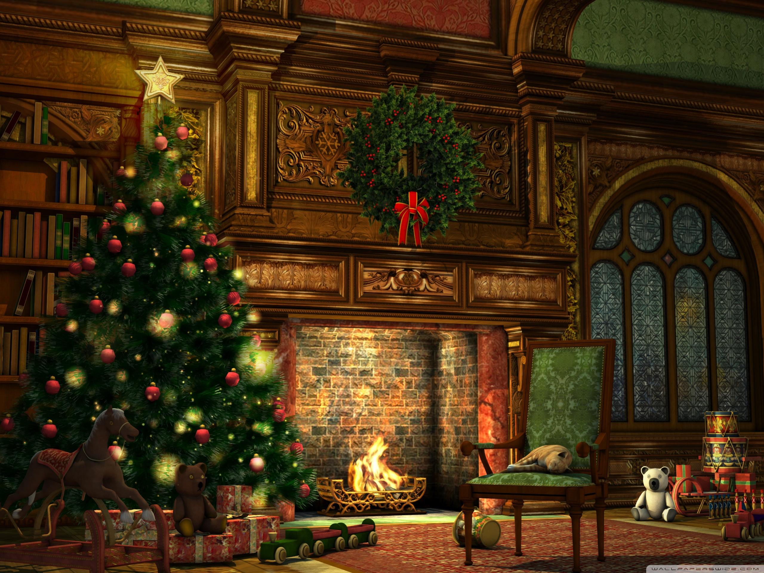 Рабочий стол картинки рождество