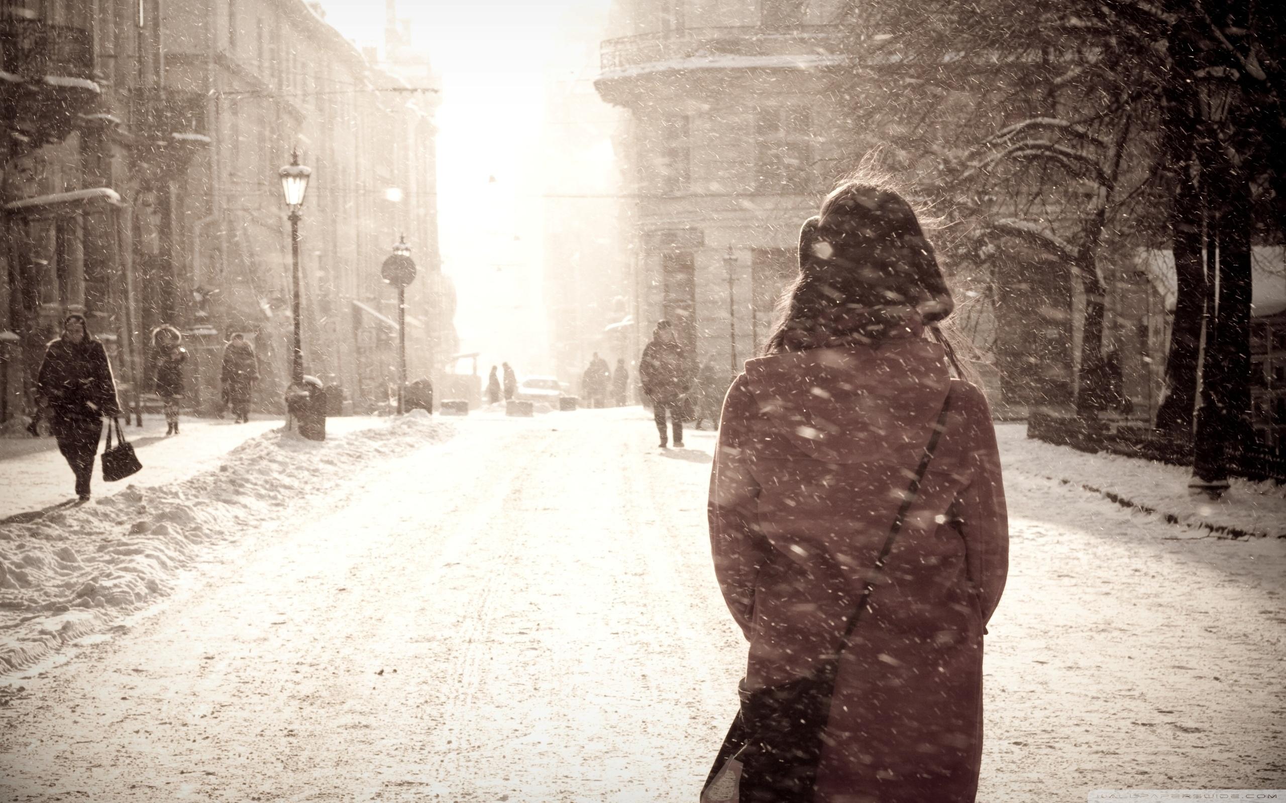 Popular Wallpaper City Snowfall