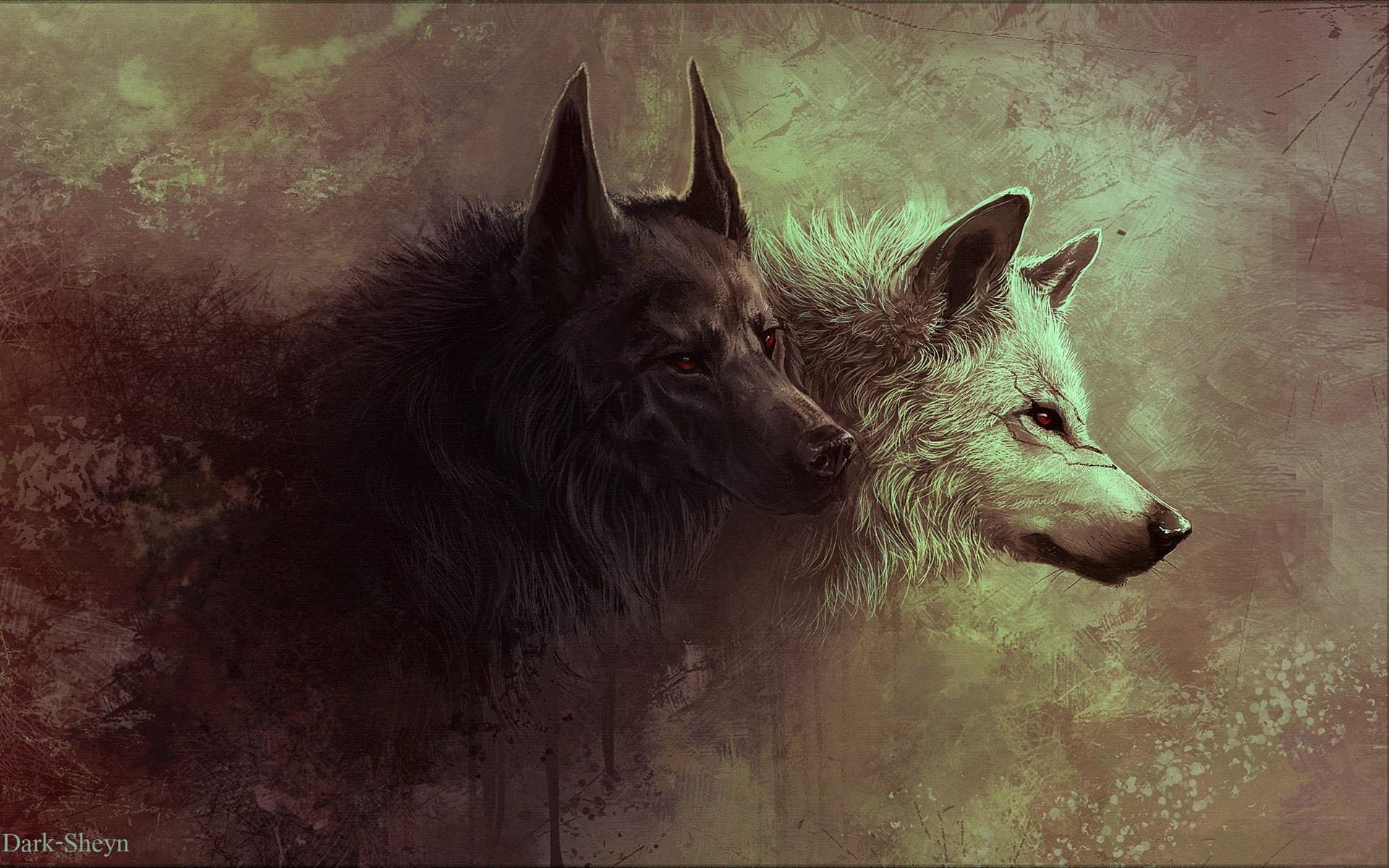 3d обои для рабочего стола волки