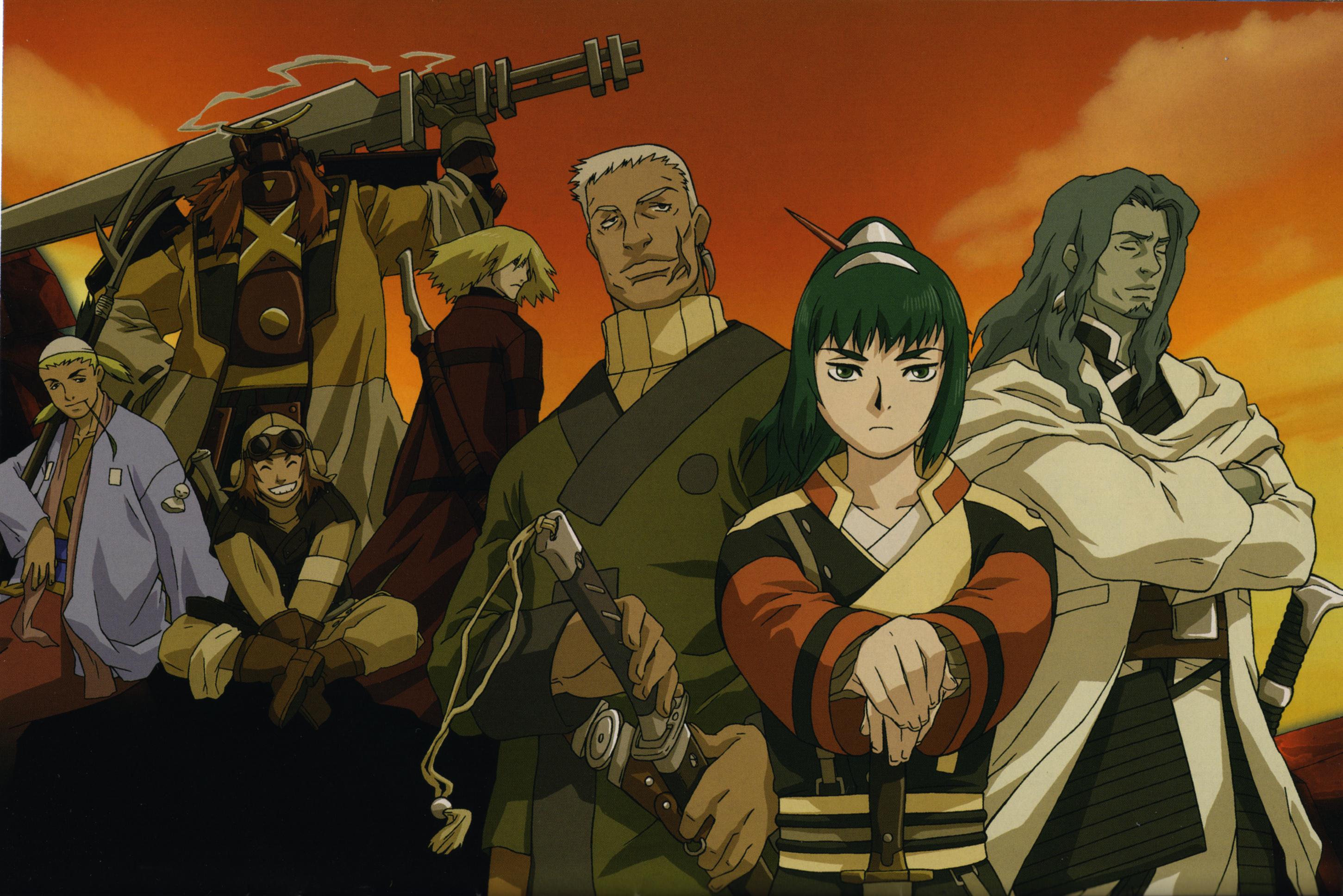 аниме 7 самураев скачать:
