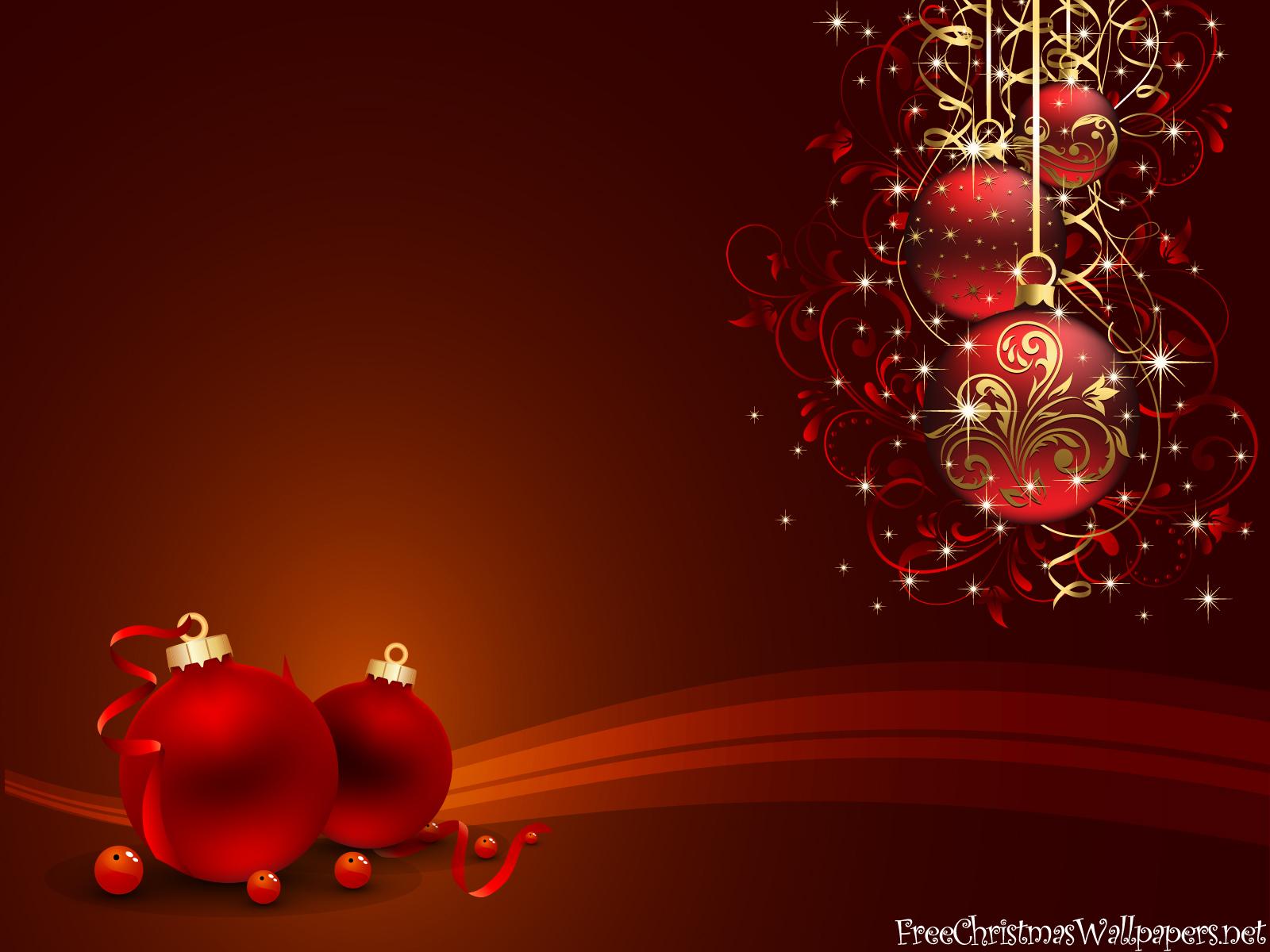 Red Christmas Wallpaper Assadasf