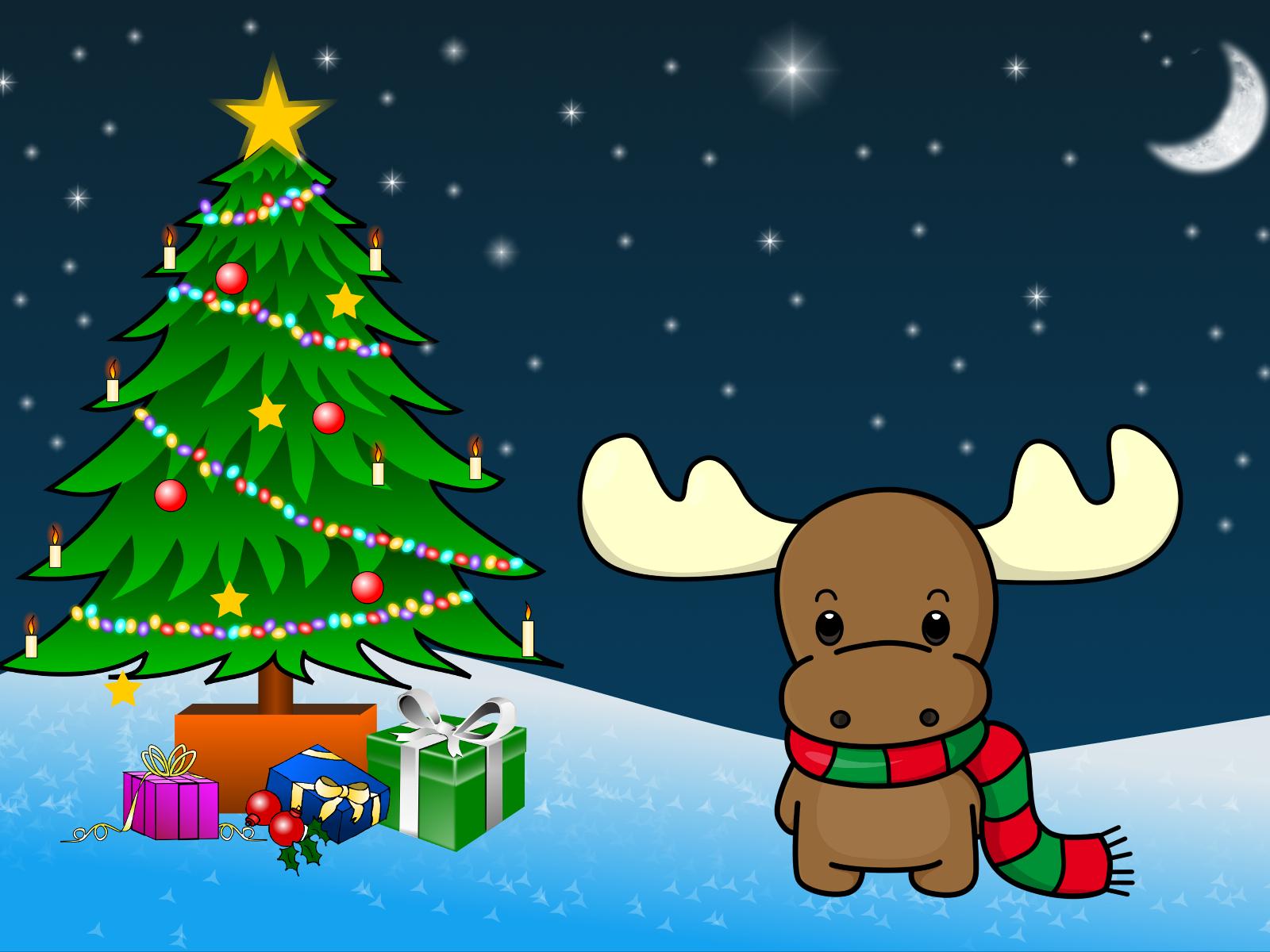 Картинки простые с новым годом, ночи
