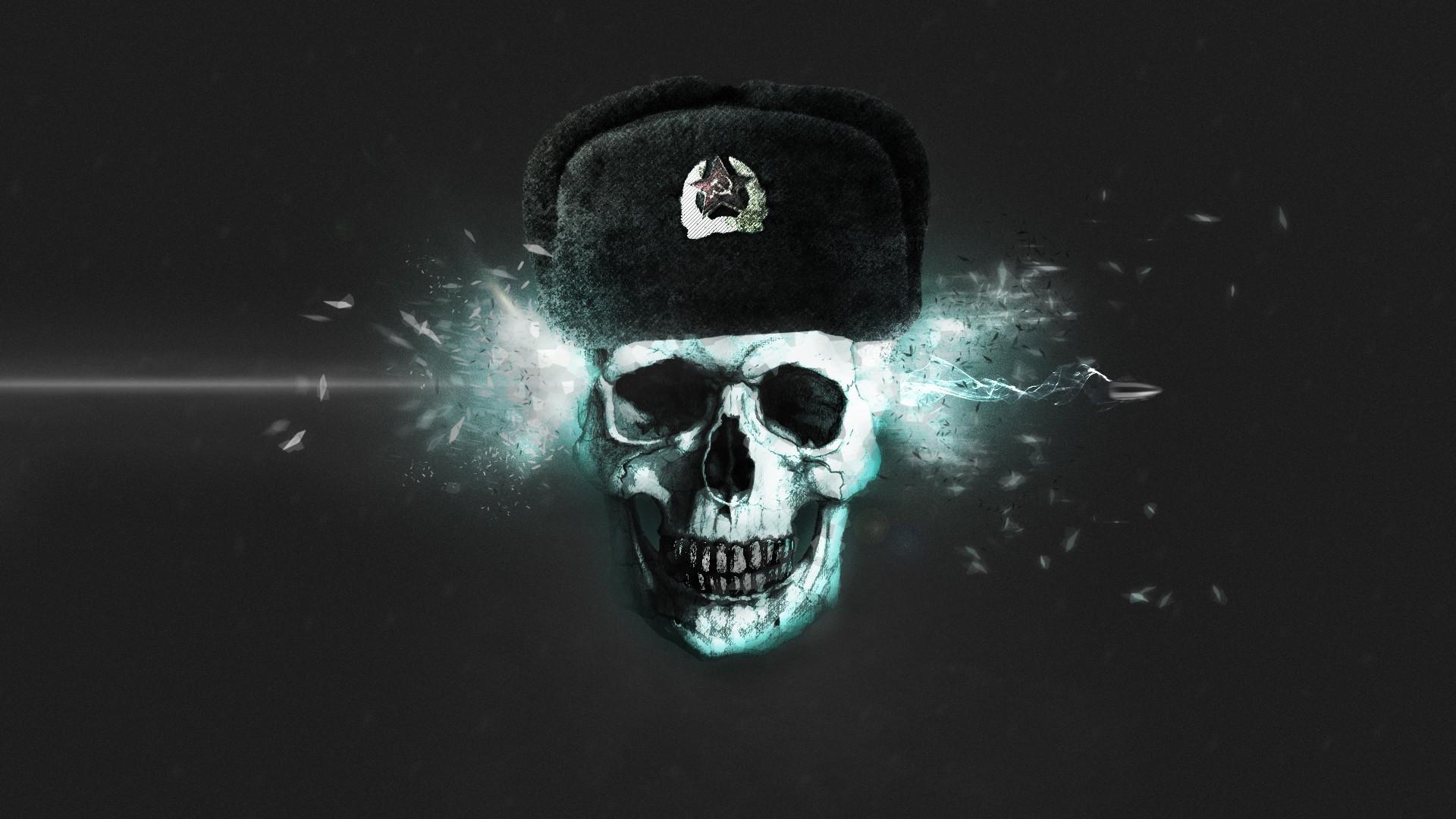 Skeleton Black Background Fire Skull Cap Bullet Anarchy Desktop Wallpapers 600x1024