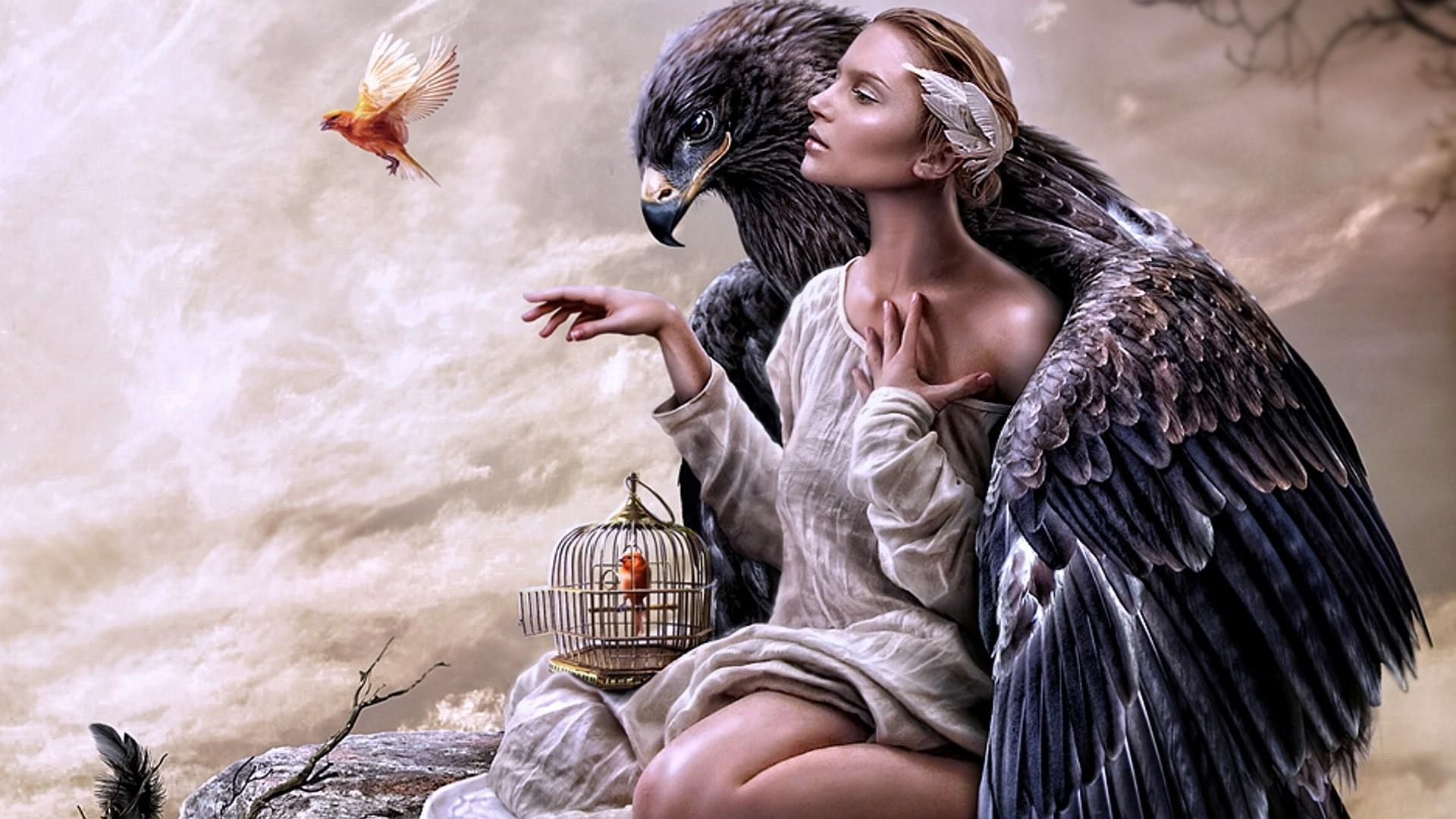 Картинки мужчины как птицы