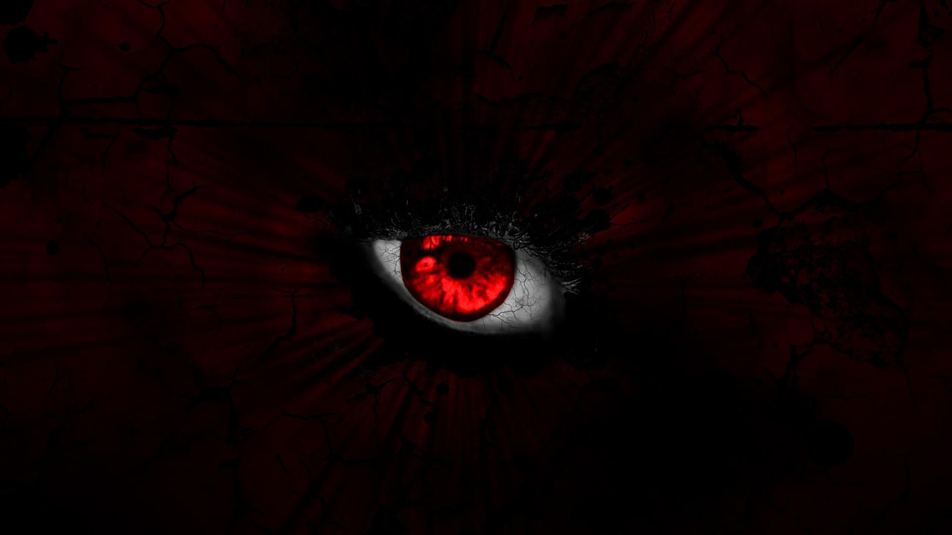 Ирочка, картинка красные глаза