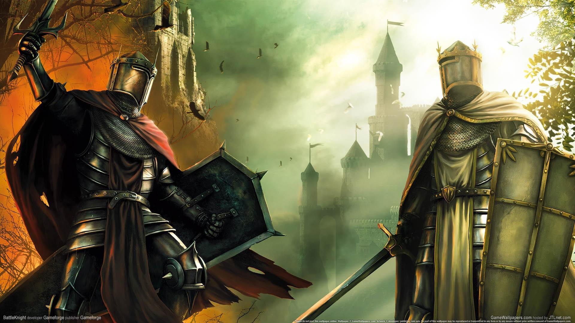 Игры рыцари и замки
